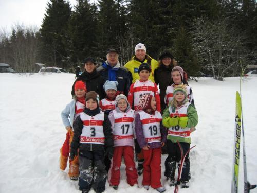 2010 02 20 Die Teilnehmer am Bezirkskinderlanglauf in Schluchsee